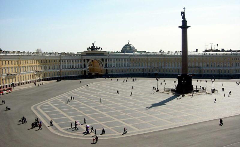 Petersburg Square Hermitage ONTWARD